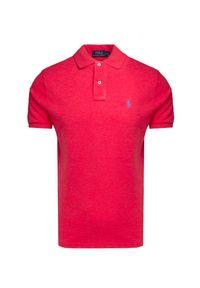 Czerwona koszulka polo Polo Ralph Lauren sportowa, polo