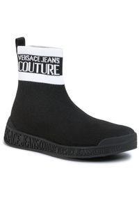 Czarne półbuty Versace Jeans Couture na co dzień, casualowe
