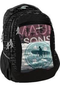 Paso Plecak szkolny Maui and Sons czarny (MAUI-2808). Kolor: czarny
