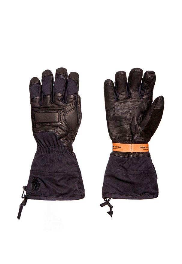 Czarna rękawiczka sportowa Black Diamond narciarska, na zimę, Gore-Tex