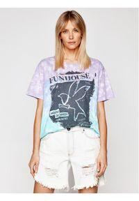 Niebieski t-shirt One Teaspoon