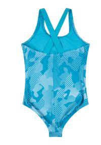 Niebieski strój kąpielowy Nike #2