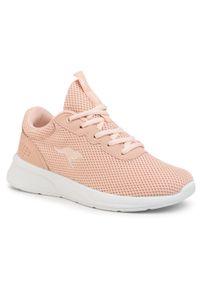 Różowe buty do fitnessu KangaRoos z cholewką