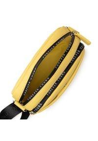 Refresh - Torebka REFRESH - 83374 Yellow. Kolor: żółty. Materiał: skórzane