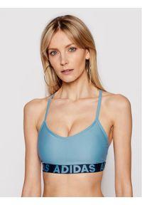 Niebieskie bikini Adidas