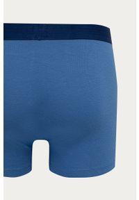 Niebieskie majtki Levi's® z nadrukiem