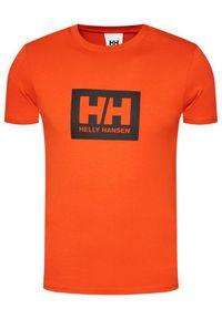 Pomarańczowy t-shirt Helly Hansen