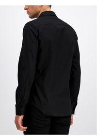Czarna koszula casual Versace Jeans