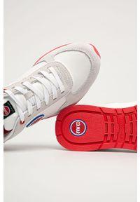 Colmar - Buty. Nosek buta: okrągły. Zapięcie: sznurówki. Kolor: biały. Materiał: guma, skóra ekologiczna, syntetyk, materiał, zamsz. Szerokość cholewki: normalna #2