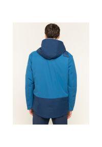 Niebieska kurtka narciarska Jack Wolfskin