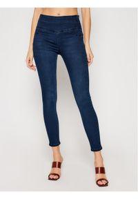 Niebieskie jeansy slim Patrizia Pepe
