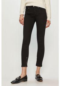 Czarne jeansy Scotch & Soda gładkie