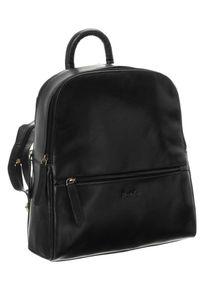 ROVICKY - Plecak damski czarny Rovicky 430-CCVT BLACK. Kolor: czarny. Materiał: skóra. Styl: casual, elegancki, retro