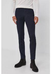 Drykorn - Spodnie Mad. Kolor: niebieski