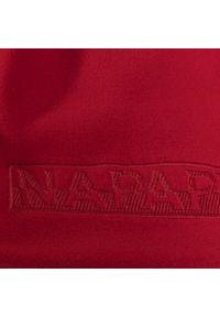 Napapijri - Czapka NAPAPIJRI - K Flush N0YIYB High Risk Red RA3. Kolor: czerwony. Materiał: materiał, poliester