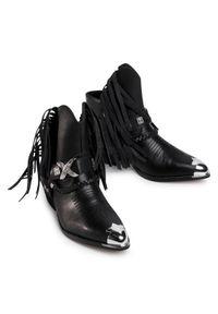 Czarne kowbojki Gino Rossi #6