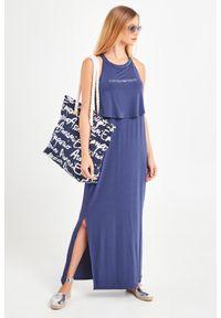 Sukienka Emporio Armani Swimwear elegancka