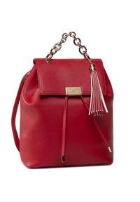 Czerwony plecak Trussardi Jeans