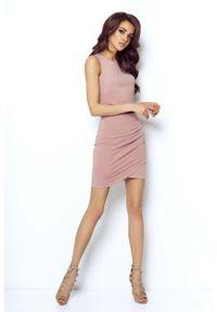 Różowa spódnica mini IVON