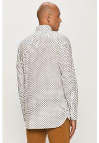 Biała koszula TOMMY HILFIGER na co dzień, button down, długa, casualowa