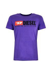 """Diesel T-shirt """"T-Diego-Division"""". Okazja: na co dzień. Materiał: bawełna. Styl: casual"""