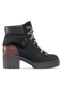 Czarne buty trekkingowe See By Chloé