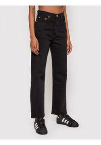 Levi's® Jeansy Ribcage Straight Ankle 72693-0012 Czarny Straight Fit. Kolor: czarny