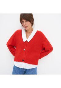 Czerwony sweter Mohito
