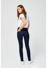 Niebieskie jeansy MOODO z podwyższonym stanem