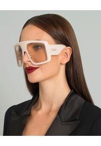 DIOR - Okulary DiorSoLight1. Kolor: beżowy