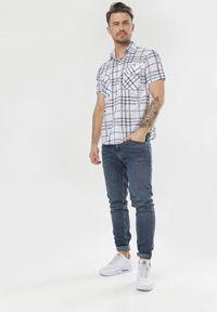 Biała koszula casual Born2be
