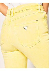 Guess Jeansy Skinny Fit W02A29 D3XX2 Żółty Skinny Fit. Kolor: żółty. Materiał: jeans, elastan, bawełna