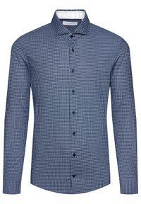 Baldessarini Koszula Henry 10003/000/1005 Granatowy Regular Fit. Kolor: niebieski #3