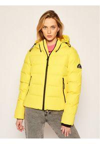 Żółta kurtka zimowa Superdry