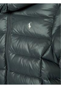 Szara kurtka puchowa Polo Ralph Lauren polo