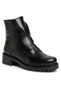 Czarne buty trekkingowe Baldaccini z cholewką