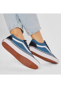 Vans Tenisówki Old Skool VN000D3HNVY Niebieski. Kolor: niebieski #7