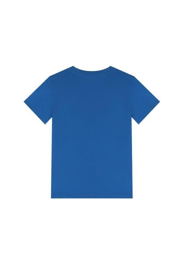 Niebieski t-shirt Calvin Klein Swimwear