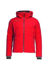 Czerwona kurtka narciarska Descente