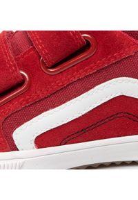 Geox Sneakersy J Alonisso B. A J152CA 02210 C0003 S Bordowy. Kolor: czerwony