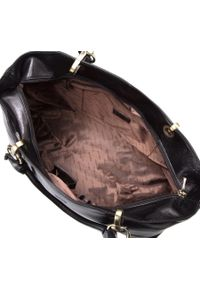 Wittchen - Kuferek damski skórzany vintage matowy. Kolor: czarny. Wzór: aplikacja. Materiał: skórzane. Styl: vintage