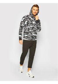 Czarna bluza Calvin Klein Jeans z nadrukiem