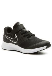 Czarne półbuty Nike z cholewką, na rzepy