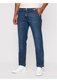 Pierre Cardin Jeansy 3025/000/7713 Niebieski Modern Fit. Kolor: niebieski