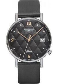 Szary zegarek Zeppelin