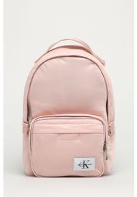Różowy plecak Calvin Klein Jeans gładki