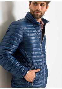 Lekka kurtka pikowana bonprix niebieski. Kolor: niebieski. Styl: sportowy