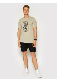 Only & Sons T-Shirt Turner 22019658 Szary Regular Fit. Kolor: szary