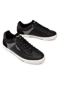 Czarne sneakersy Pepe Jeans