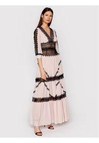 Różowa sukienka wieczorowa Babylon